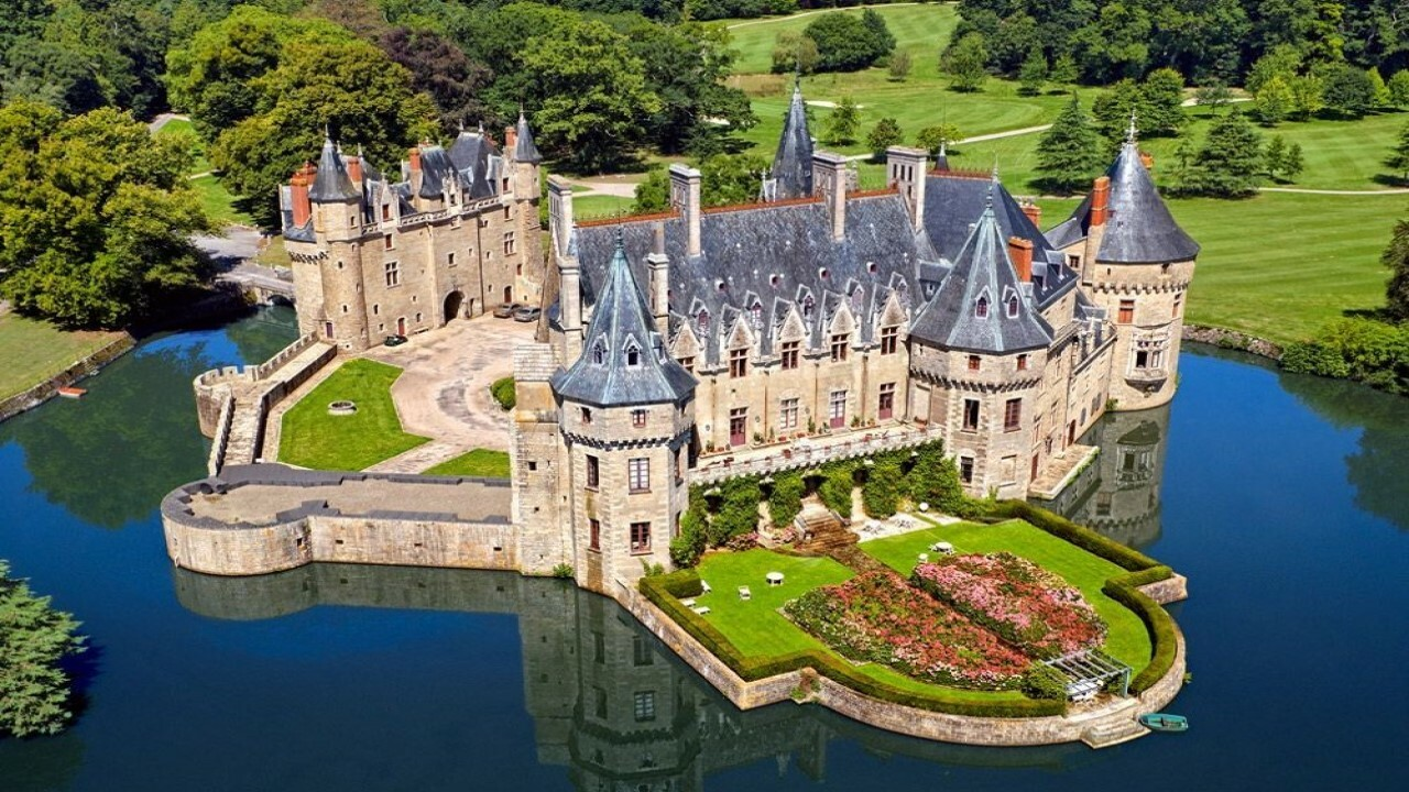 Castle of Loire Valley
